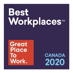 Great Place To Work Best Workplaces Canada 2020